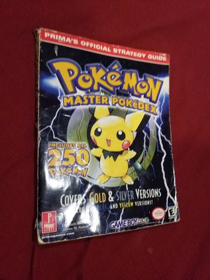 Collectable Pokemon master pokedex (2001) for Sale in Atlanta, GA