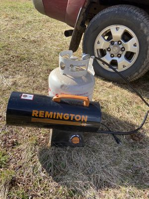 Remington Propane torpedo heater for Sale in Warrenton, VA