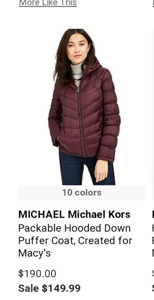 Michael kors jacket new for Sale in Spokane, WA