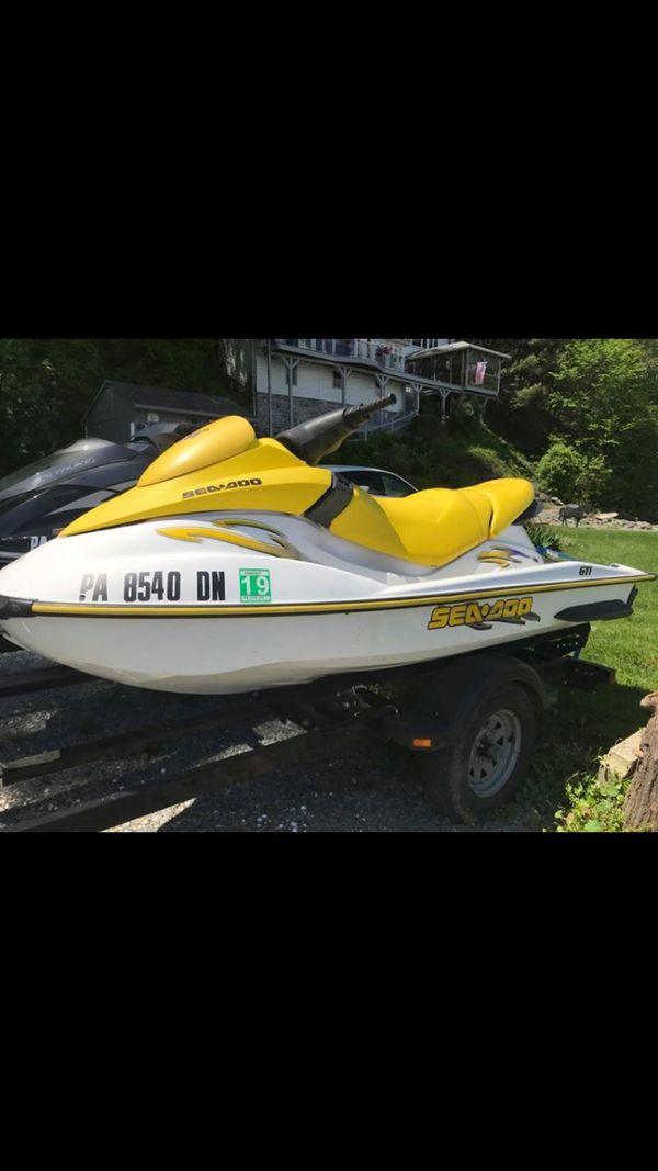 Jet ski Seadoo GTI with Trailer