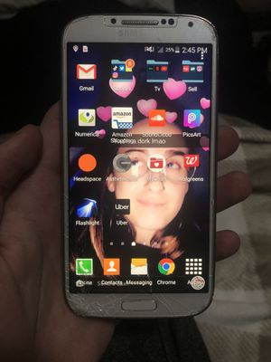 Samsung Galaxy s4 Verizon Cell phone for Sale in Burbank, WA