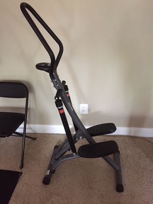 Portable Step Climber Exercise machine with hand grips and digital counter for Sale in Alexandria, VA