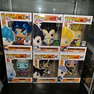 Dbz Funko Pops cheap for Sale in Fort Worth, TX