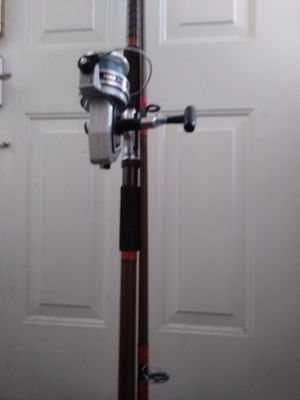 AUB GarciaI'd five star rod fishing pole and reel for Sale in Centreville, VA