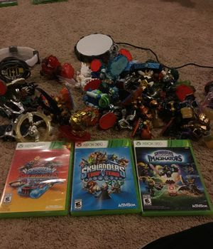 Sky landers trap team, supercharger and imaginators lot for Xbox 360 . for Sale in Oakdale, MN