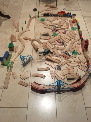 Vintage Thomas and friends wood trains for Sale in La Puente, CA