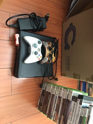 Xbox 360 Console with 27 games included for Sale in Irwindale, CA