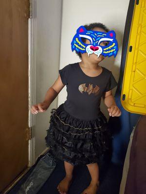 Bat girl dress/ costume for Sale in San Bernardino, CA