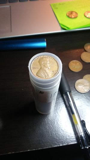 1 Roll 1959-D Lincoln Cent Pennies (High Grade Coins) for Sale in Wenatchee, WA
