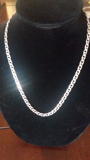 """beautiful! 21""""inch solid silver chain 925 Italy for Sale in Rancho Cucamonga, CA"""