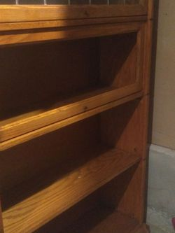 "Free Oak Bookshelf 36 X 12 X 60"" for Sale in Bothell,  WA"
