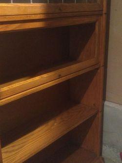"Pending Pickup...Free Oak Bookshelf 36 X 12 X 60"" for Sale in Bothell,  WA"