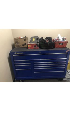 Snap On tool box filled with tools for Sale in Denver, CO