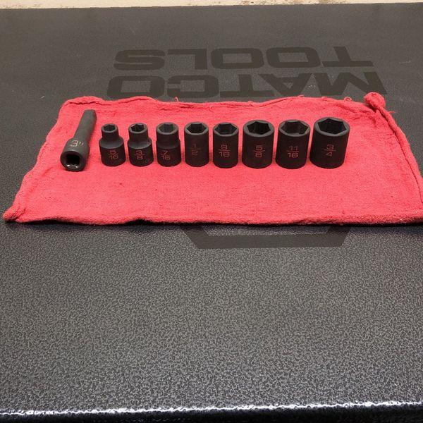 Matco Standard Socket Set 5/16-3/4 Extension