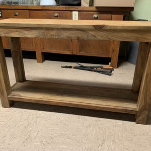 Console / Solid Wood for Sale in Portland, OR