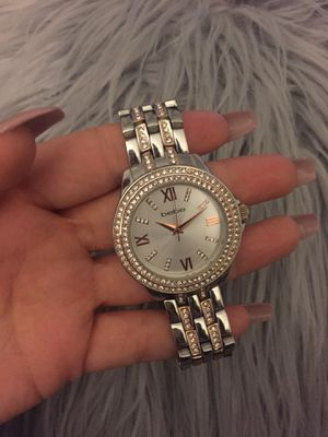 BEBE GOLD SILVER WATCH (authentic) for Sale in Roseville, CA