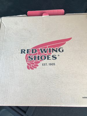 Red wings work boots for Sale in Corona, CA