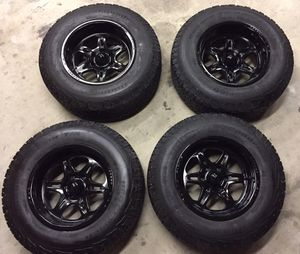 4)17x10 Weld Racing Cheyenne Rims 6x135 Ford for Sale in Suffolk, VA