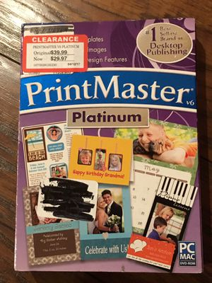 Print Master software program for Sale in Ontario, CA