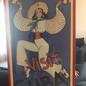 Visit Cuba and Capitol Poster for Sale in Miami, FL
