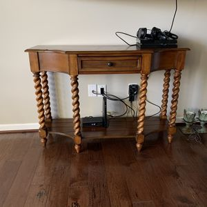 Solid Wood Console Table for Sale in Gainesville, VA
