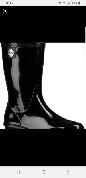 UGG rain boots size 6 for Sale in Oxnard, CA