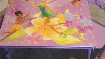 """Tinker Bell Activity Table 24""""×24"""" for Sale in Chino,  CA"""