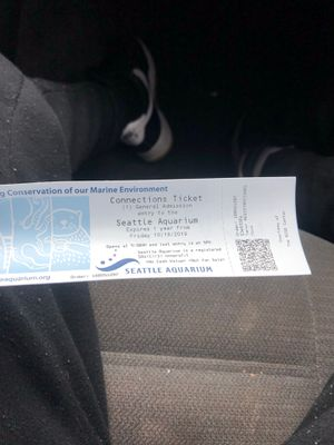 Seattle Aquarium tickets for Sale in Joint Base Lewis-McChord, WA