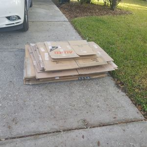 Moving Boxes FREE for Sale in Casselberry, FL