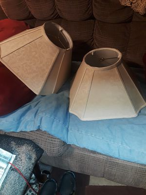 Custom made lamp shades for Sale in Woodhaven, MI