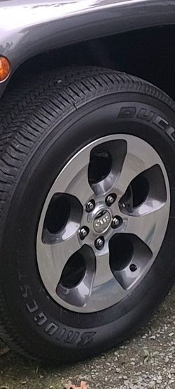 Jeep wheels&tires for Sale in Olympia,  WA