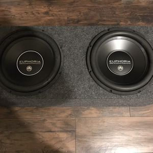 """DB Drive Euphoria Ew3 12"""" Subs for Sale in Cleveland, OH"""