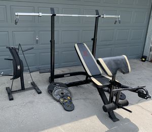 Olympic weight set for Sale in Lakeland, FL