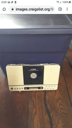 CURTIS RADIO AND CD PLAYER for Sale in Lynchburg,  VA