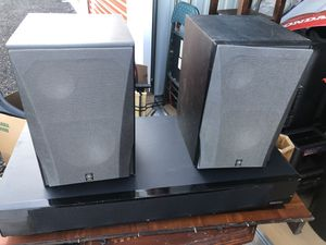 Two Yamaha speakers in a sound bar. All Three of them are in excellent condition and work for Sale in West Haven, CT