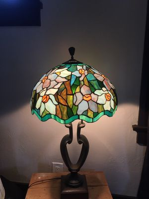Antique stained glass lamp for Sale in San Diego, CA