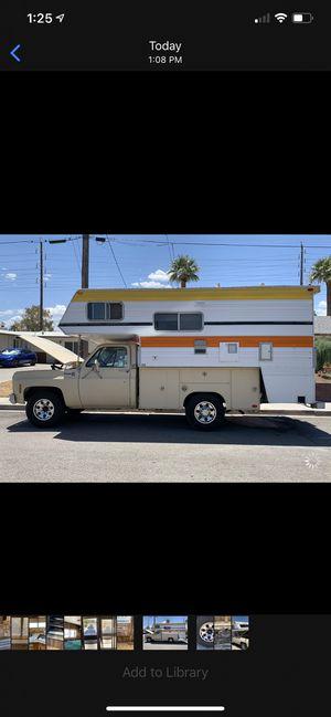 Classic Camper Truck for Sale in Las Vegas, NV