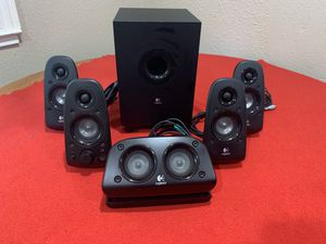 Logitech z506 5.1 speakers and sub for Sale in San Jose, CA