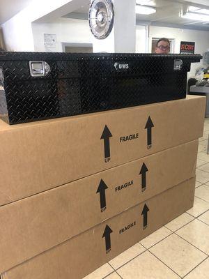 "Truck tool boxes - UWS 70"" black low profile - We carry all tool boxes - Truck tool boxes, trailer tool boxes - We carry all trailer parts for Sale in Plant City, FL"