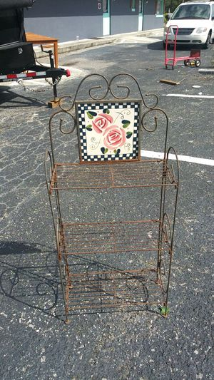 Wrought Iron Plant Holder for Sale in Orlando, FL