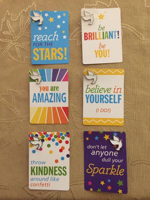 Inspirational Card with Dove Pin- half dozen for Sale in San Diego, CA
