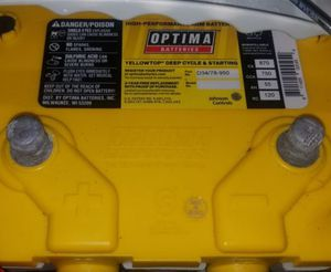 Excellent condition with full charge Optima deep cycle battery. Used for miscellaneous light use only. for Sale in Morton Grove, IL
