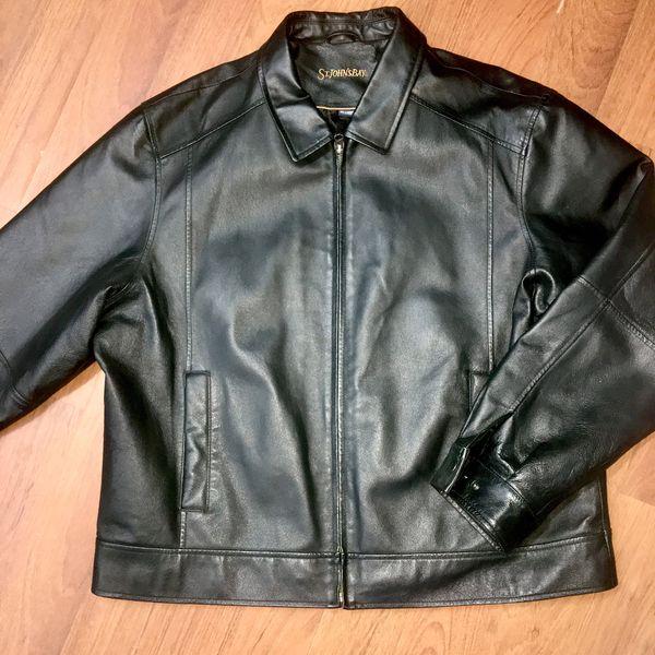 31316d845 Mens Black leather jacket for Sale in Vallejo, CA - OfferUp