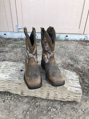 Ariat Insulated Waterproof Work Boots Size 10.5 D for Sale in Fresno, CA