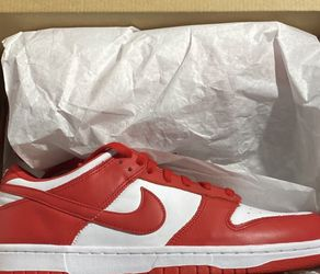 Nike Dunk low University Red 10.5 for Sale in Silver Spring,  MD