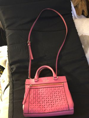 Kate Spade New York Pink Perri Lane Small Rime Sachel for Sale in Las Vegas, NV