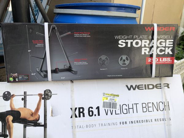Weider Bench Bar Weights COMPLETE SET DELIVERY AVAILABLE!*