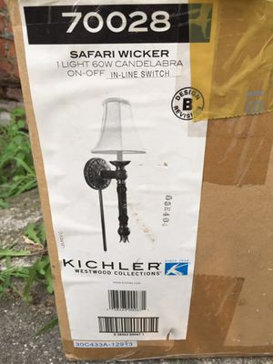 (3) Kichler Westwood Collections Candelabras for Sale in Cleveland, OH