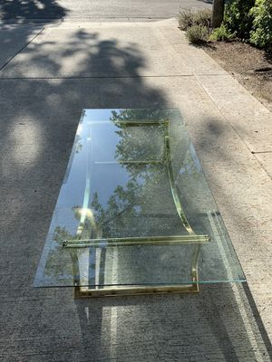 Glass Coffee and Console tables for Sale in Los Altos, CA