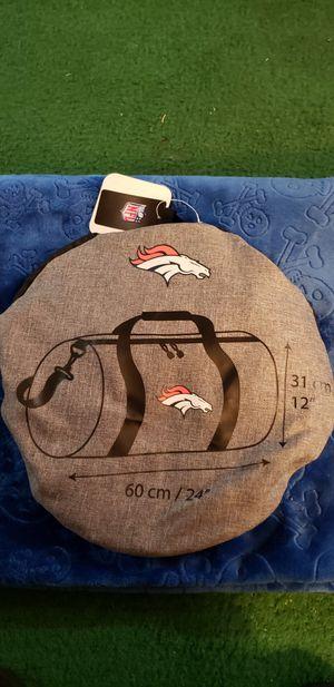 Denver Broncos duffle bag for Sale in Centennial, CO